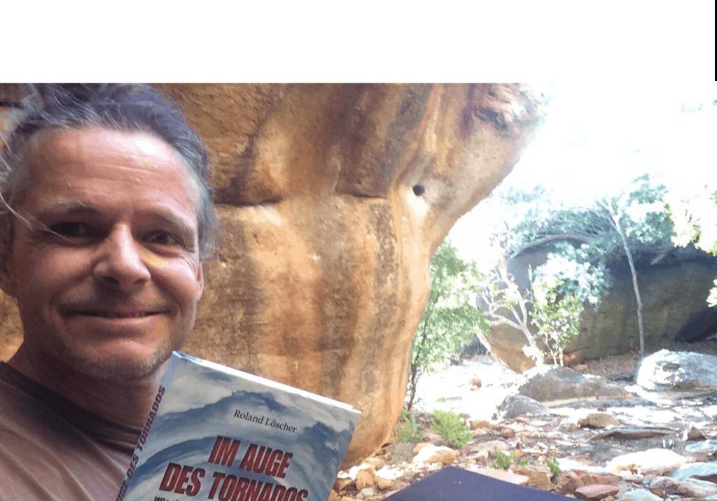 Der bekannte Boulder-Experte Jens Richter in Südafrihka
